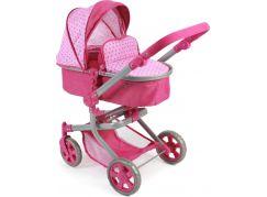 Bayer Chic Kočárek pro panenky Mika - Pink Dots