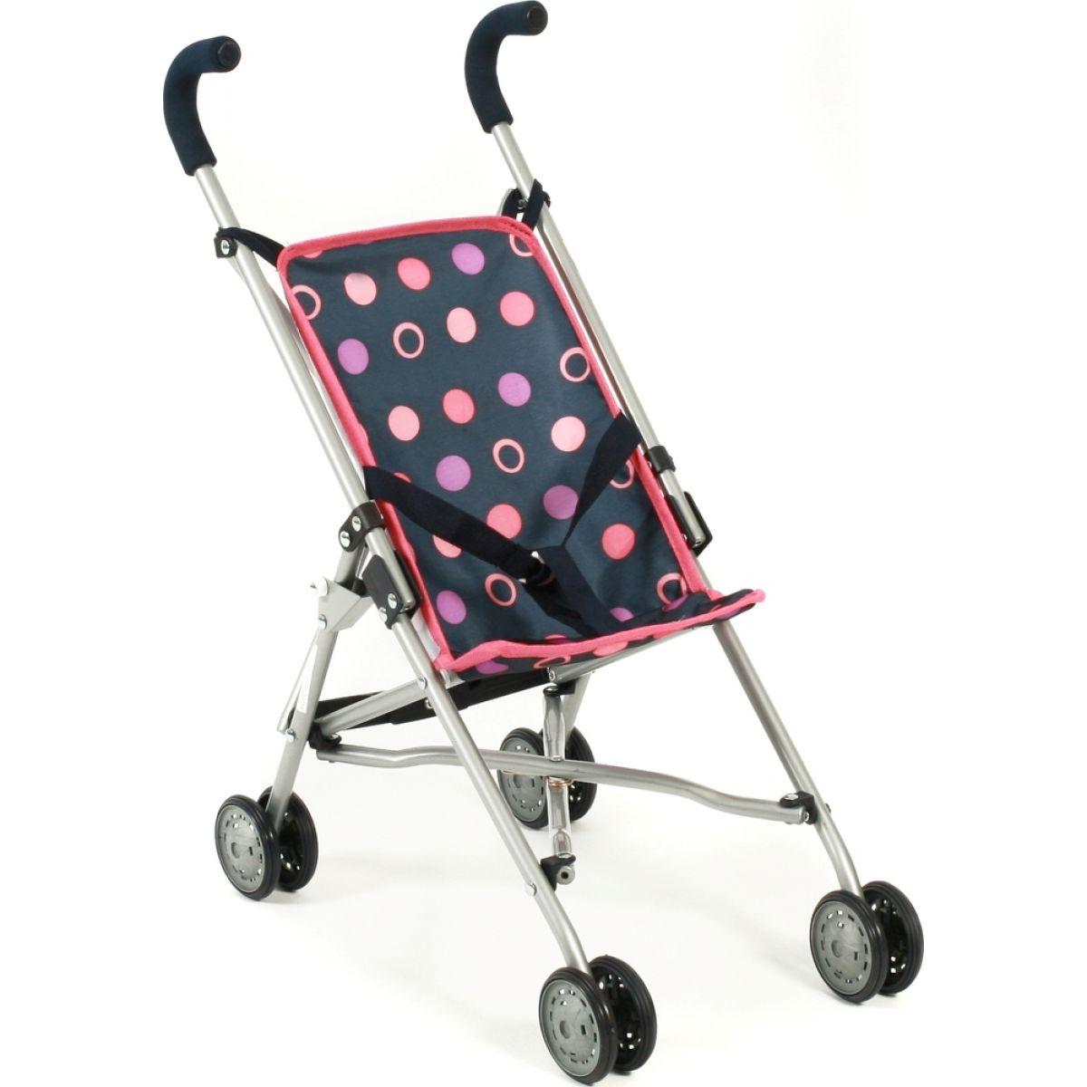 Bayer Chic Kočárek pro panenky Mini Buggy Roma - Corallo