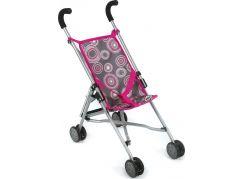 Bayer Chic Kočárek pro panenky Mini Buggy Roma - Hot Pink Pearls