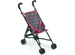 Bayer Chic Kočárek pro panenky Mini Buggy Roma hvězdičky růžové