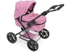 Bayer Chic Kočárek pro panenky Picobello - Jeans růžová