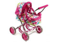 Bayer Chic Kočárek pro panenky Smarty - Pinky Bubbles