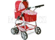 Bayer Chic Kočárek pro panenku Bellina 2v1 - Ruby Red