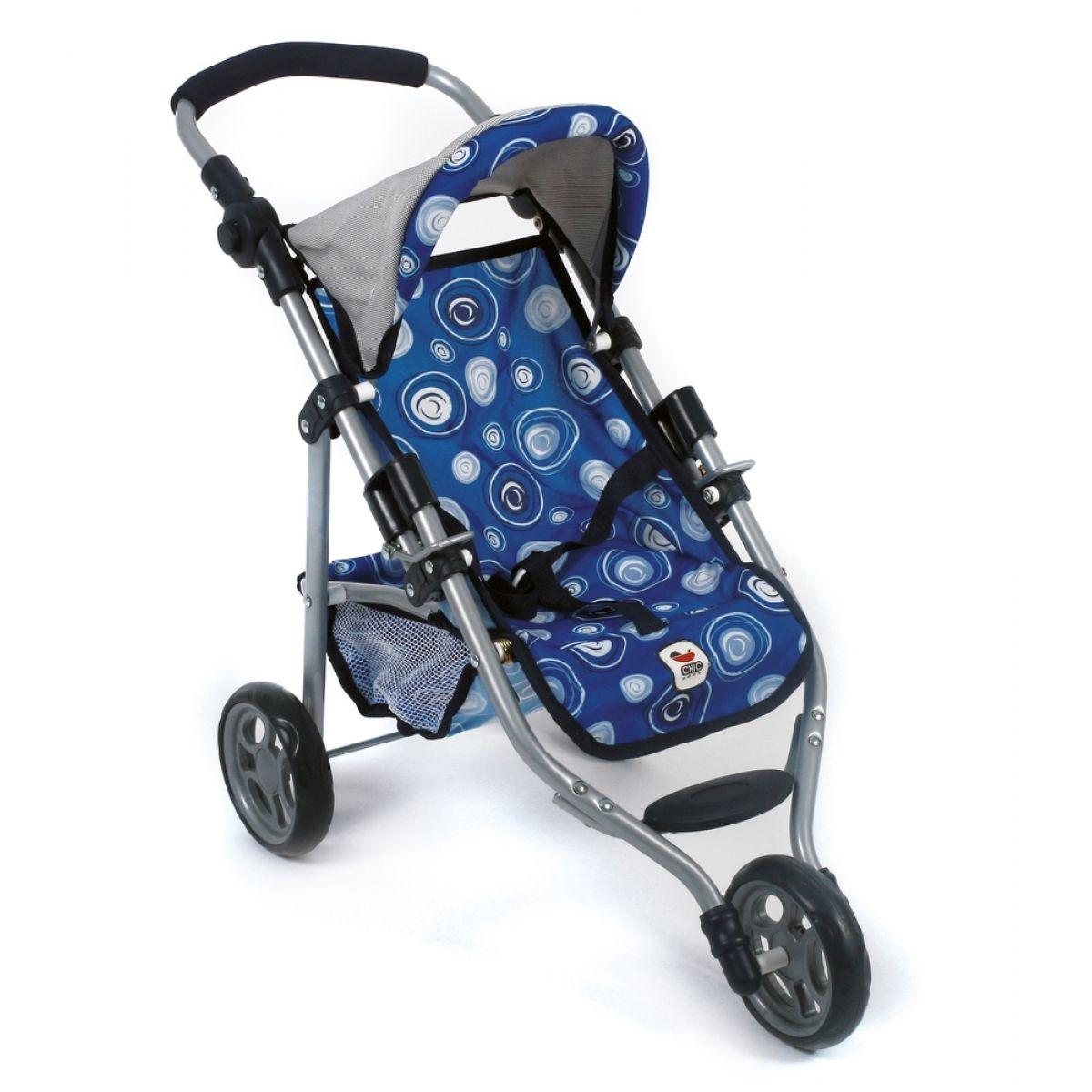Bayer Chic Kočárek pro panenky Lola - Blue boy