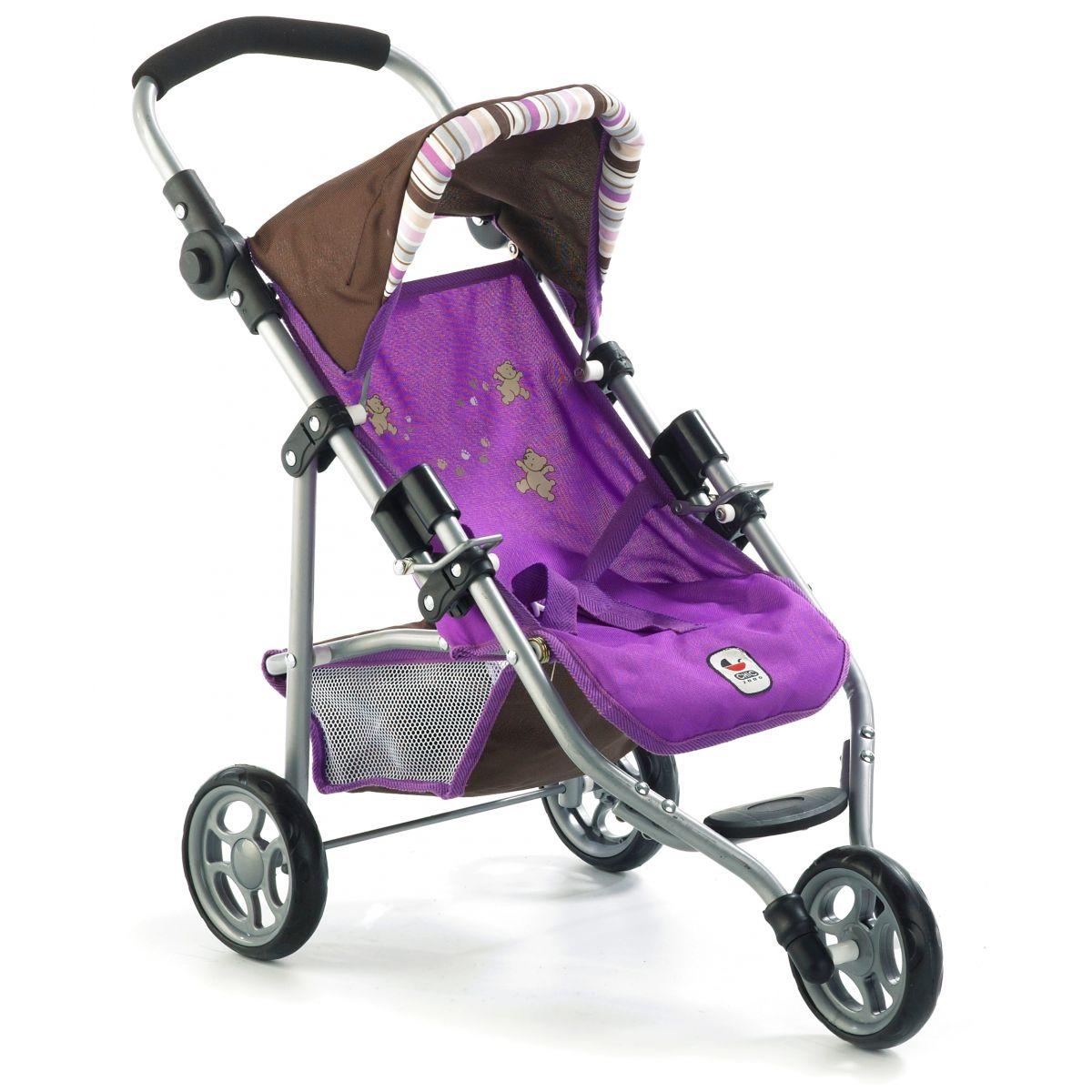Bayer Chic Kočárek pro panenky Lola - viola lila