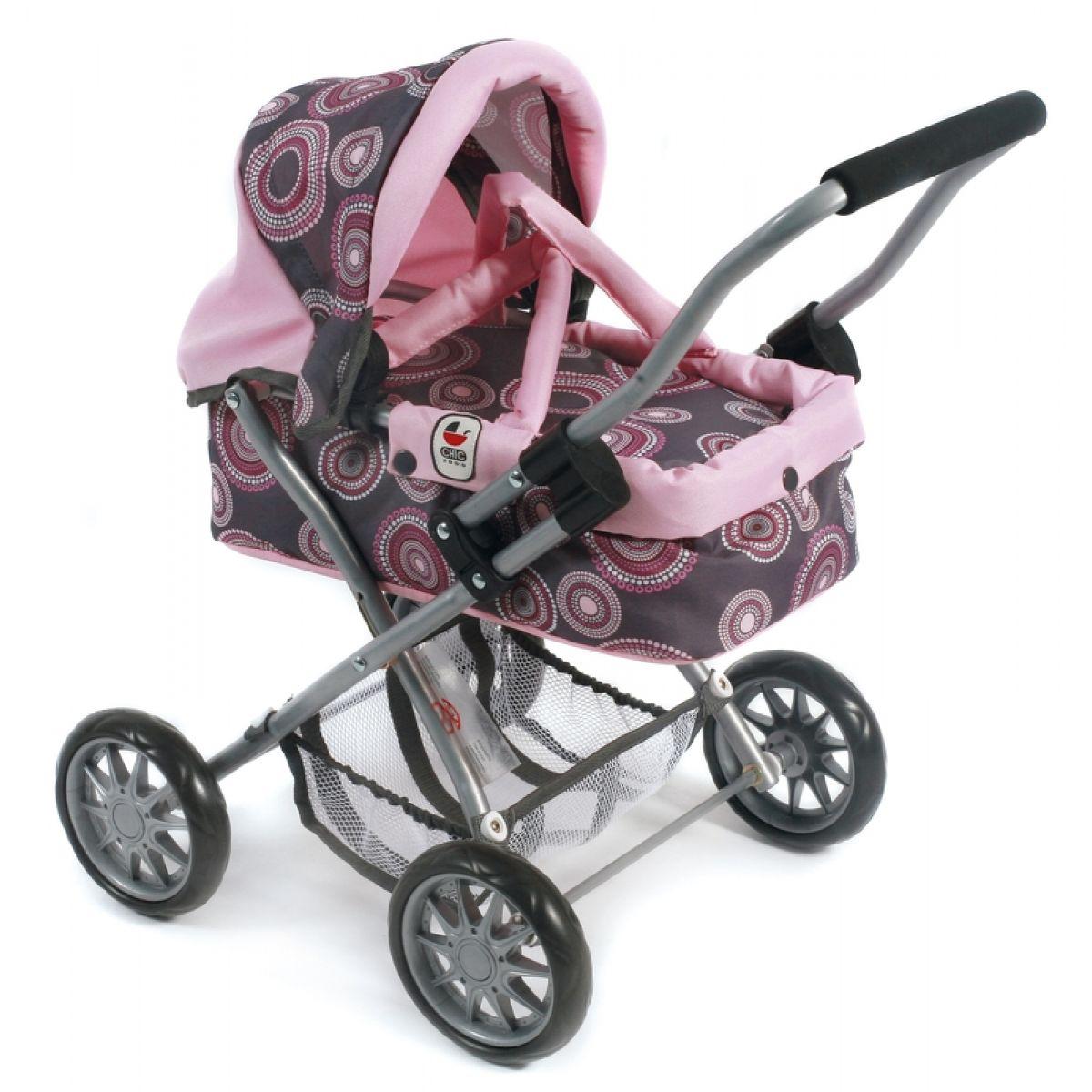 Bayer Chic Kočárek pro panenky Smarty - rosy pearls