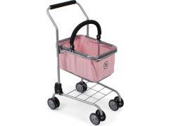 Bayer Chic Nákupní vozík s košíkem - Melange Roze