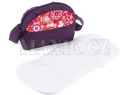 Bayer Chic Přebalovací taška ke kočárku - Orange plums