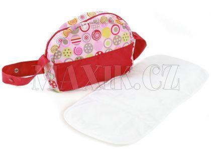 Bayer Chic Přebalovací taška ke kočárku - Ruby Red