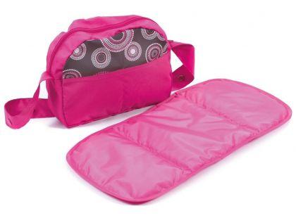 Bayer Chic Přebalovací taška ke kočárku - Hot pink pearls