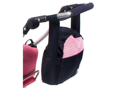 Bayer Chic Přebalovací taška ke kočárku - Pink Checker