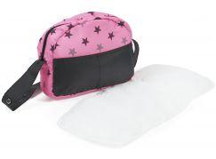 Bayer Chic Přebalovací taška na kočárek hvězdičky šedivé