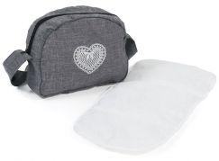 Bayer Chic Přebalovací taška na kočárek jeans šedivá
