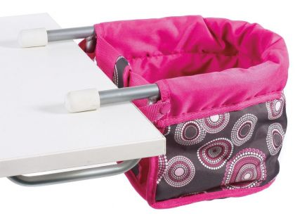 Bayer Chic Sedačka ke stolu - Hot pink pearls