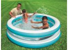 Bazén kruhový průhledný 203cm Intex 57489 - Modrobílá 2