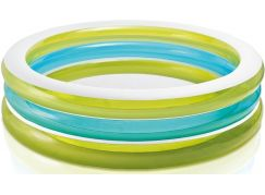 Bazén kruhový průhledný 203cm Intex 57489 - Zelenomodrá