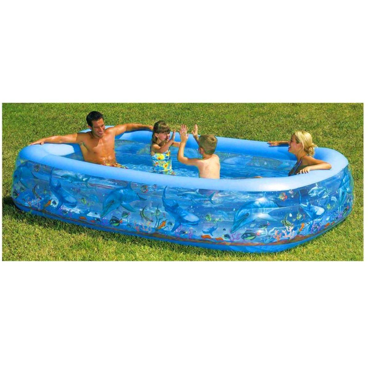 Bazén 3komory Deluxe Bestway 54043