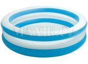 Bazén kruhový průhledný 203cm Intex 57489 - Modrobílá