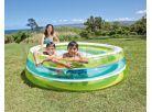 Bazén kruhový průhledný 203cm Intex 57489 - Zelenomodrá 2