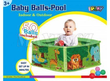 Bazén s 50 kuličkami - není na vodu
