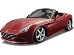 Bburago 1:18 Ferrari California T open top Red