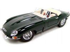 Bburago 1:18 Jaguar E Cabriolet (1961) zelené 18-12046