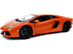 Bburago 1:18 Lamborghini Aventador oranžová 18-11033