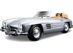 Bburago 1:18 Mercedes Benz 300 SL Touring (1957) Silver