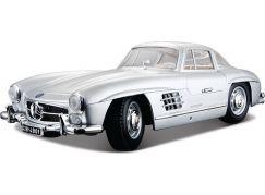 Bburago 1:18 Mercedes-Benz 300 SL(1954) Silver