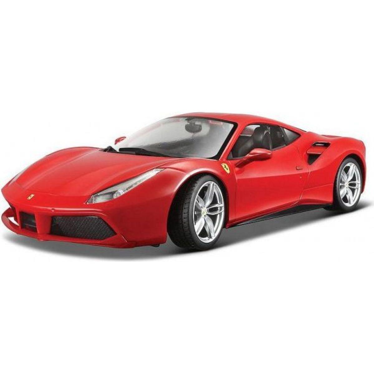 Bburago 1:24 Ferrari 488 GTB červená 18-26013