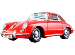 Bburago 1:24 Porsche 356B Coupe (1961) Red