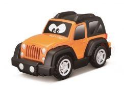 Bburago Jeep plastové autíčko oranžový