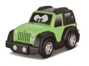 Bburago Jeep plastové autíčko zelený
