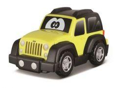 Bburago Jeep plastové autíčko žlutý