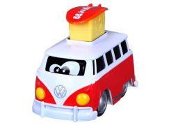 Bburago junior VW transporter zmáčkni a jeď červený