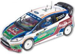 Bburago kovový model WRC Ford - AbuDhabi - Mikko Hirvonen