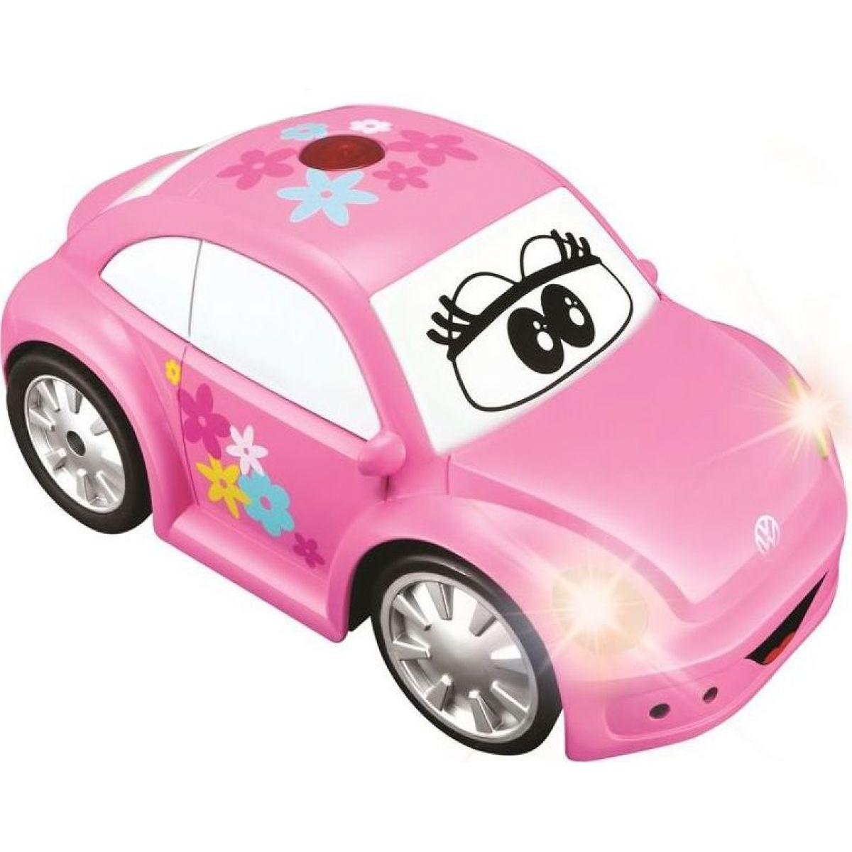 Bburago Volkswagen Beetle růžové