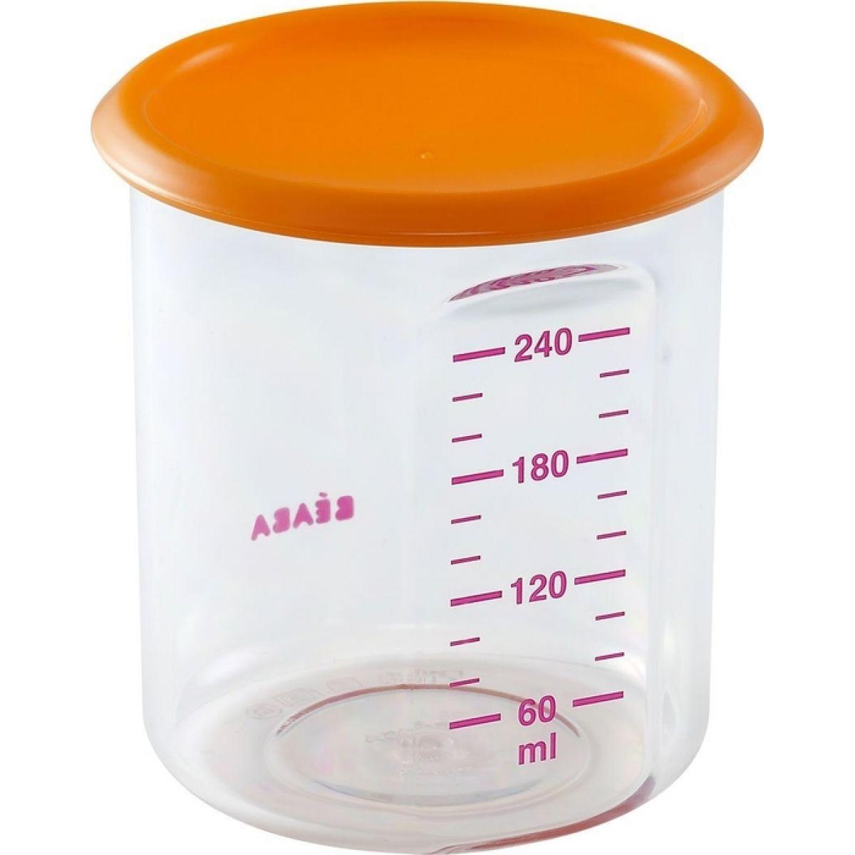 BÉABA Kelímek na jídlo 240ml - Oranžová