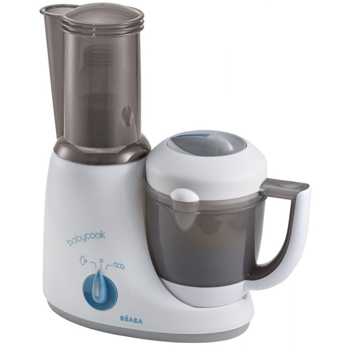 Béaba Parní vařič a mixér Babycook Plus šedá