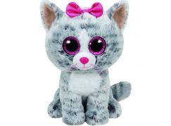 Beanie Boos KIKI 24 cm šedá kočka