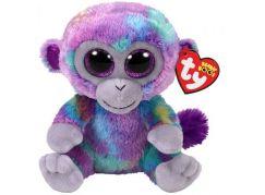 Beanie Boos ZURI 15 cm barevná opička