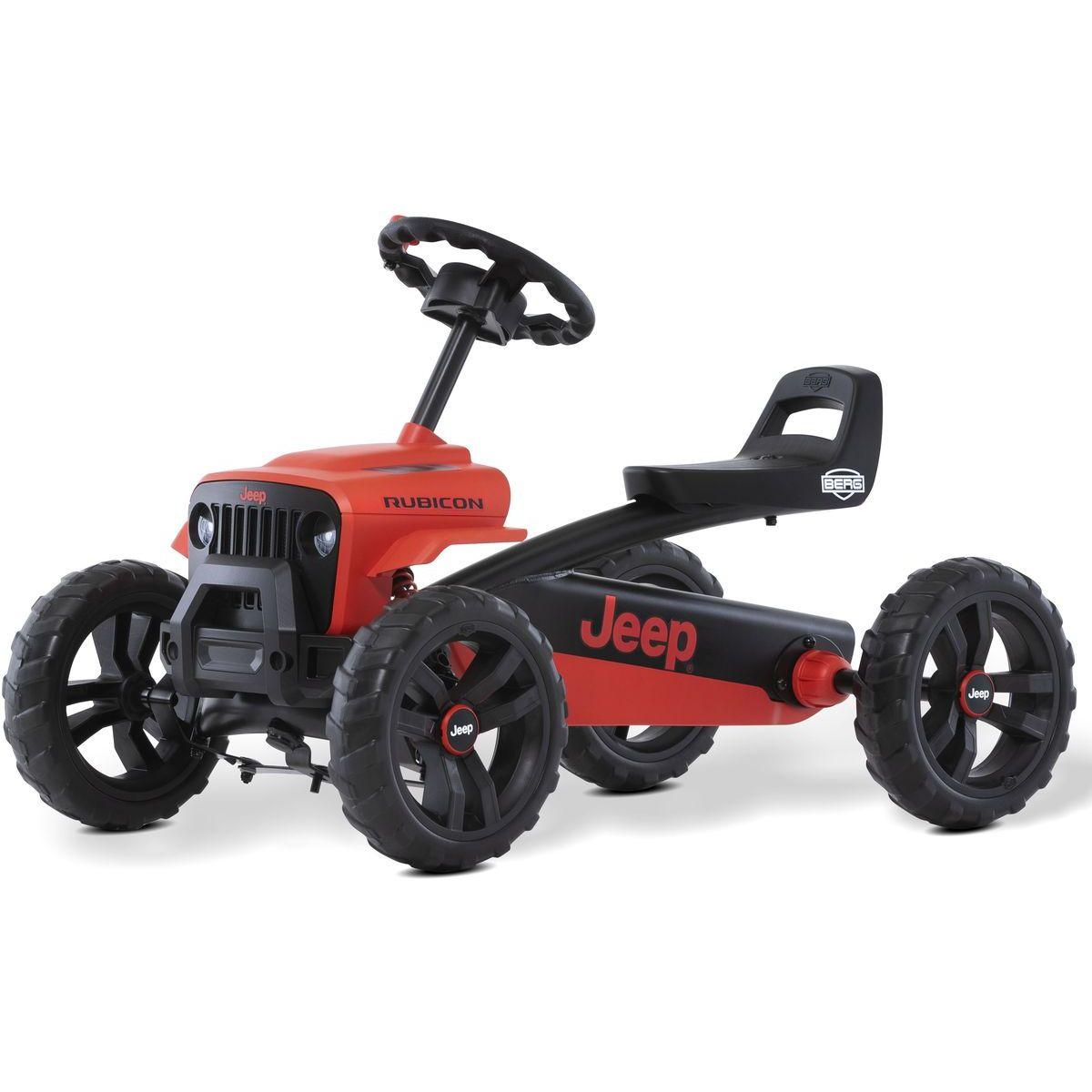 Berg Buzzy - Jeep Rubicon červeno-černý