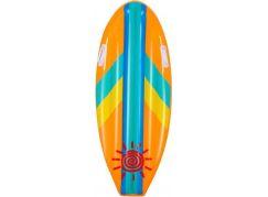 Bestway 42046 Nafukovací matrace surf 114x46 cm oranžová