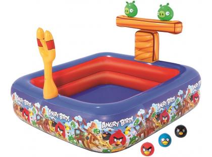 Bestway Angry Birds Nafukovací bazén 147x147x91cm