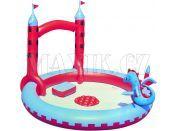 Bestway Nafukovací bazén Hrad 221x193x150cm