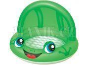 Bestway Nafukovací bazén Zvířátko se stříškou 97x66 cm - Zelená