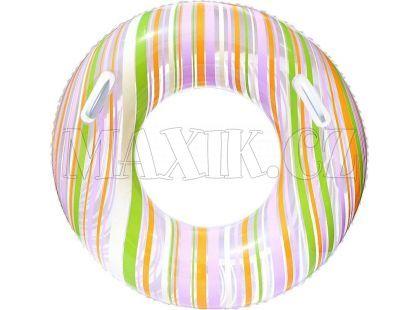 Bestway Nafukovací kruh Proužek 91cm - Zelená