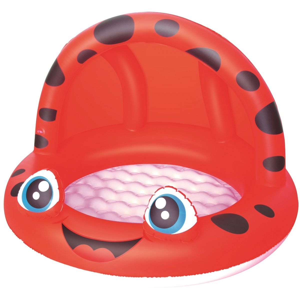Bestway Nafukovací bazén Zvířátko se stříškou 97x66 cm - Červená