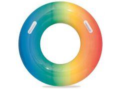 Bestway Nafukovací kruh duhový 91 cm modro-oranžový