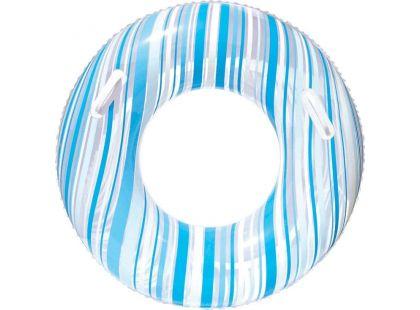 Bestway Nafukovací kruh Proužek 91cm - Modrá